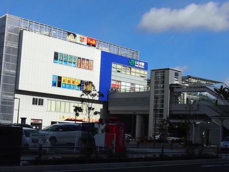Iwaki station building