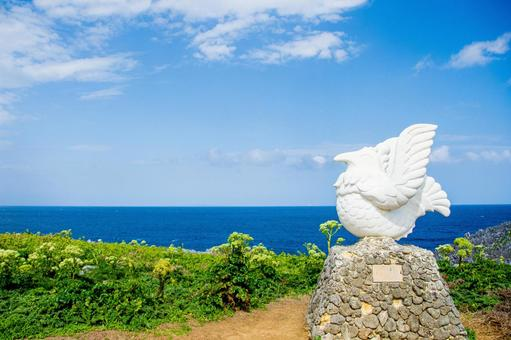 沖繩縣最北端的Hedo海角