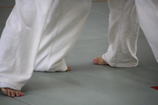 空手道的脚