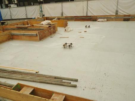 Building site foundation 1