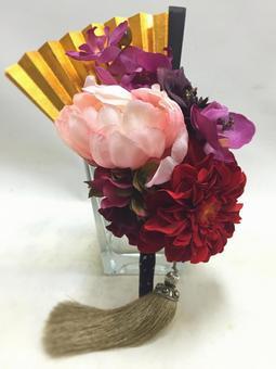 Wedding Japanese style folding fan folding bouquet
