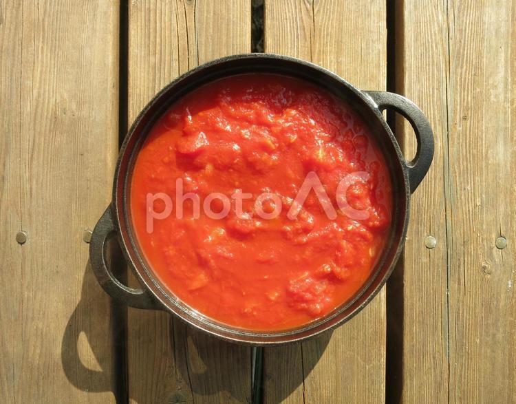 トマトソースの写真