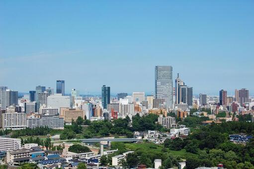 Sendai cityscape scenery (Miyagi prefecture)