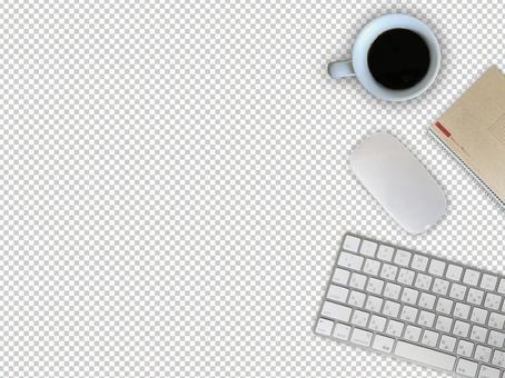 Deskwork image (cutout)