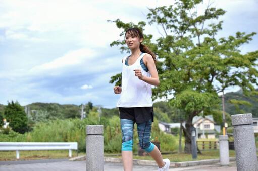 Beauty jogger