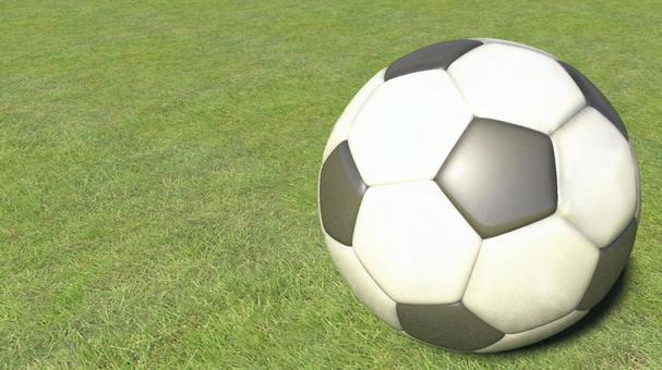 3DCG soccer ball