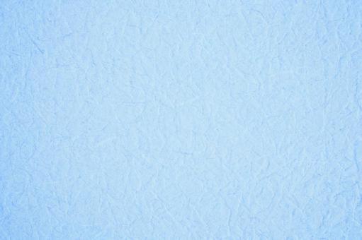 Wrinkled blue Japanese paper-like background material