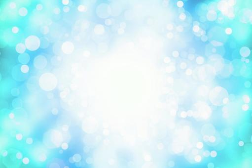 Image of sparkling water in summer   Glitter background material