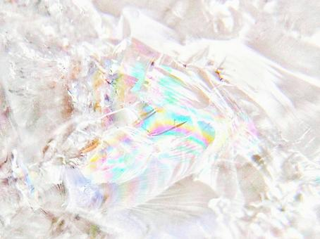 Crystal with natural rainbow 2