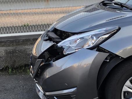 Self-damage accident