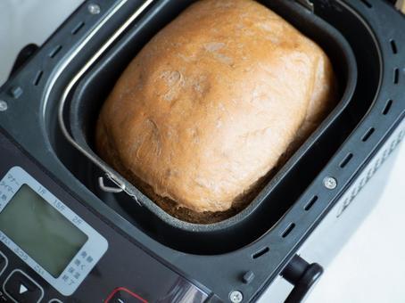 홈 베이커리에서 구운 식빵