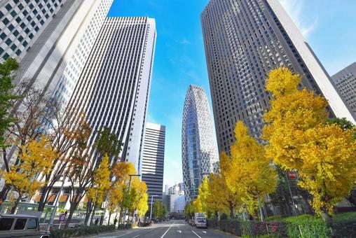 Shinjuku's office town
