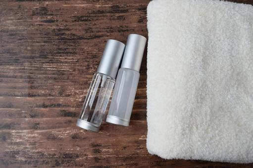 Basic makeup Materials related to beauty skin care