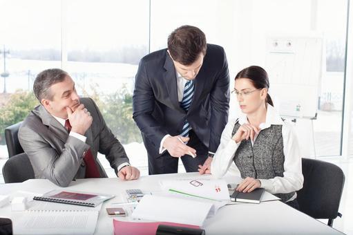 Discuss business team 5