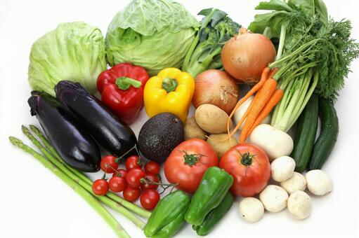 Variety of vegetables 3