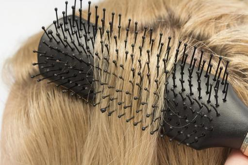Hair and brush 6