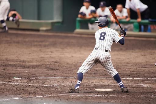 高中棒球击球手