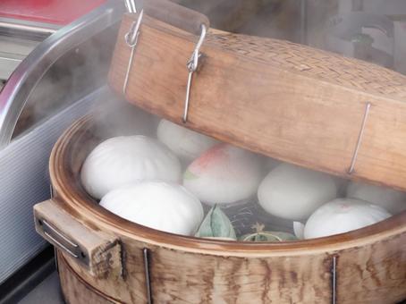 요코하마 차이나 타운 · 음식