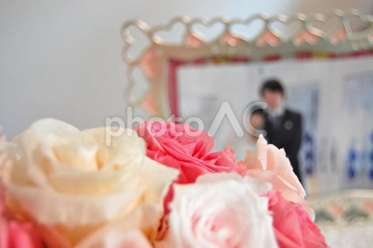 新婚生活の写真