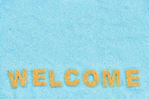 Welcome background