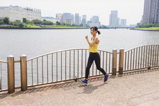 Female to jog 7