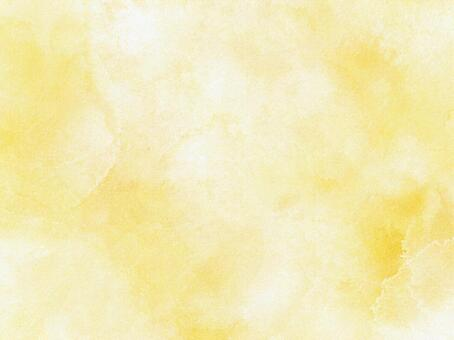 Image of soft yellow watercolor paint