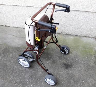 Walking aid cart