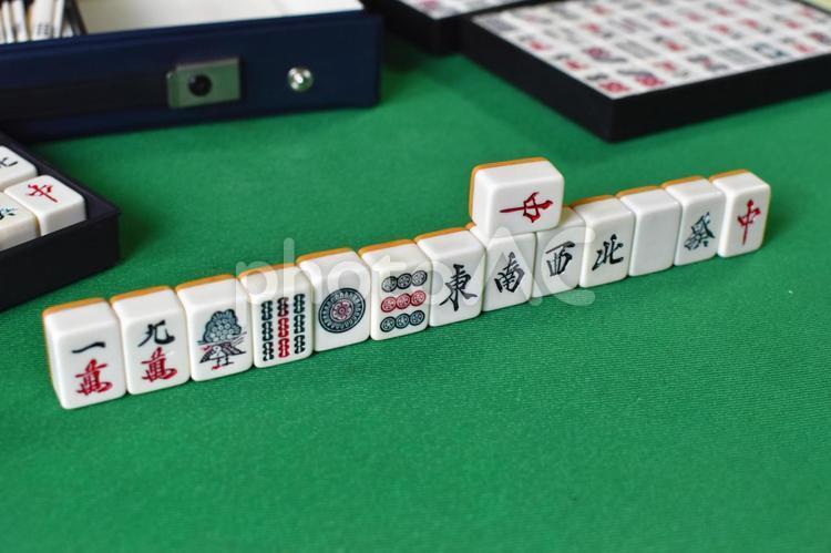 麻雀(テーブルゲーム)6の写真