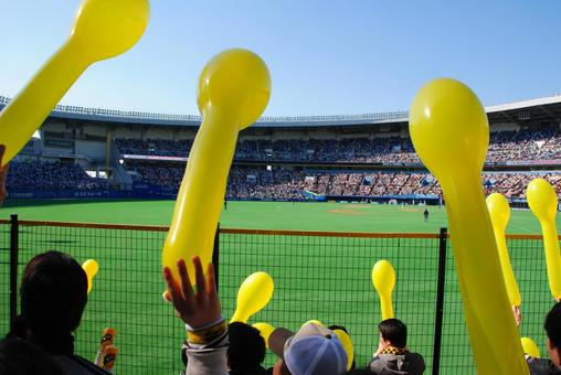 Support for baseball stadium