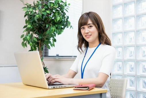 Office female employees 6