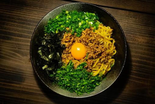 A bird's-eye view of Taiwan Mazesoba