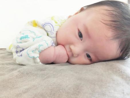 Baby 2 prone