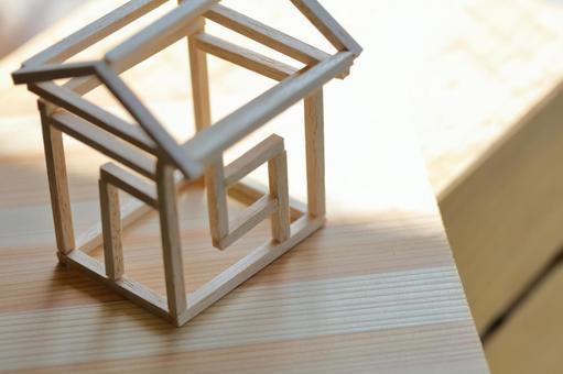 집의 모형 목조 주택 이미지 5