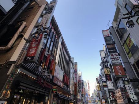 Kabukicho in the daytime