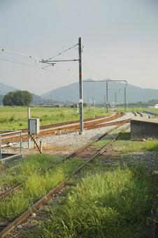 Track 7 on the Kakogawa Line