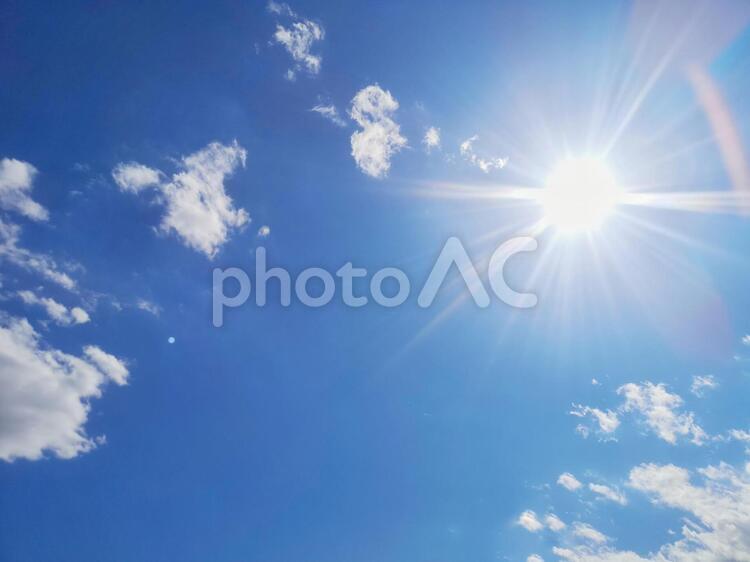 青空6 フリー素材無料素材写真イメージの写真