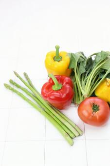 Vitamin color vegetables 5