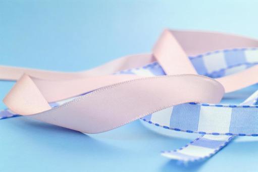 色带纹理条纹带的蓝色背景