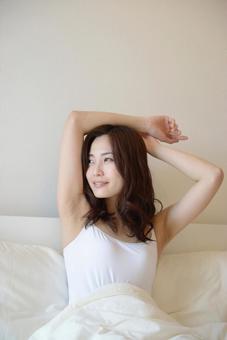 Waking-up lady 7