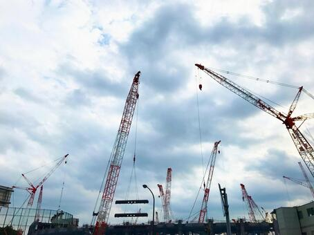New National Arena construction