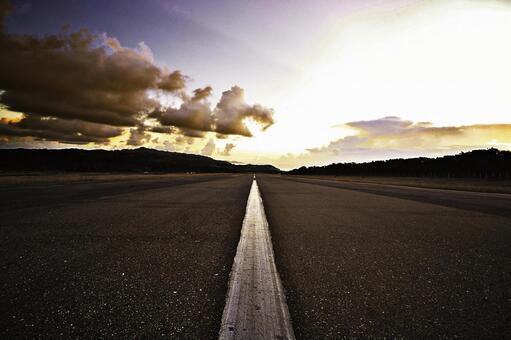 Runway 1 of Basco Airport