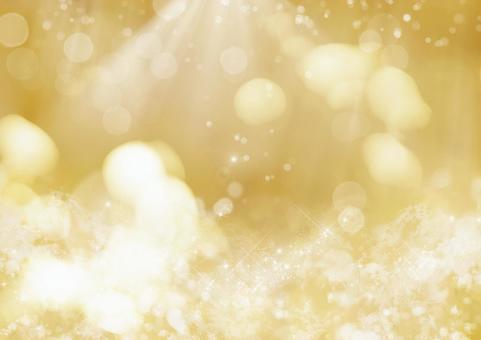 Glittering background _ champagne and hikari
