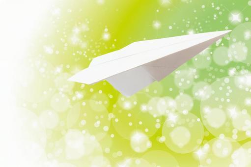 Paper airplane - good news