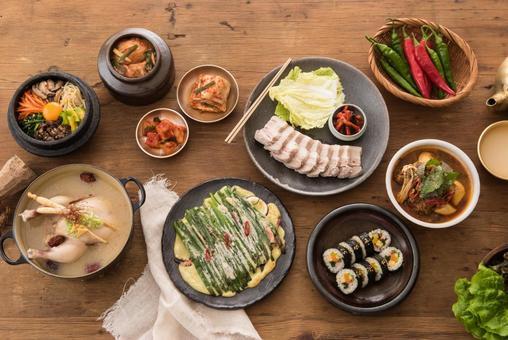 各種韓國料理12