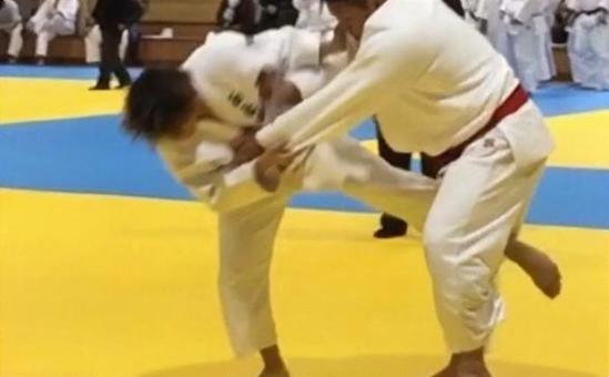 Judo game. Internal fork.