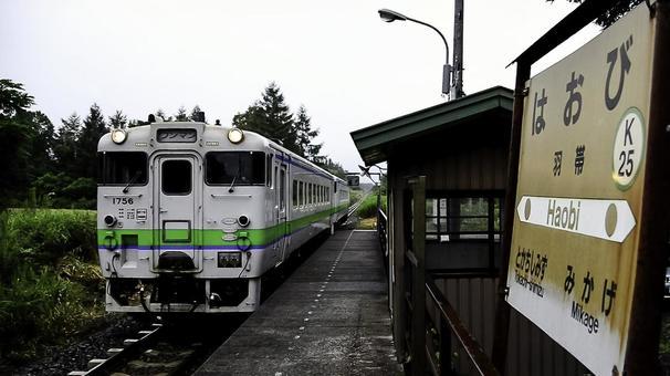 하오 비 역 제일 기차