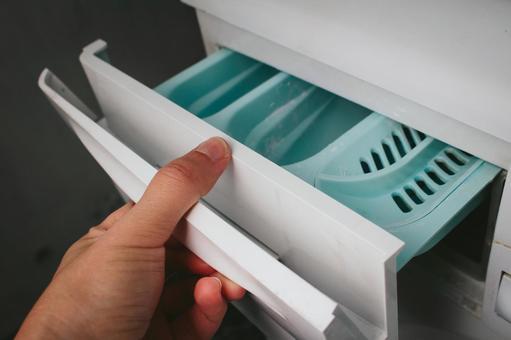 洗衣機3的洗滌劑輸入端口