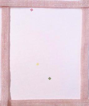 비즈 직조 프레임 (핑크) 세로 크기