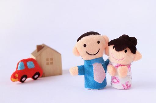 A couple doll