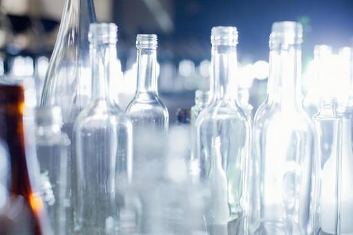 Glass bottle 8